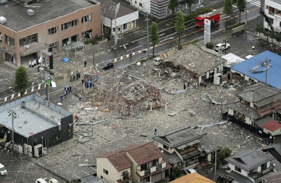 Nổ lớn tại nhà hàng tại Nhật Bản, gần 20 người thương vong - Ảnh 3