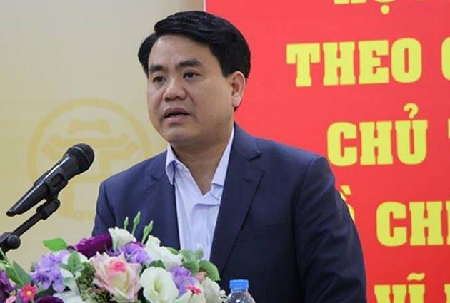 """Những phát ngôn gây """"bão"""" của Chủ tịch Hà Nội Nguyễn Đức Chung - Ảnh 1"""