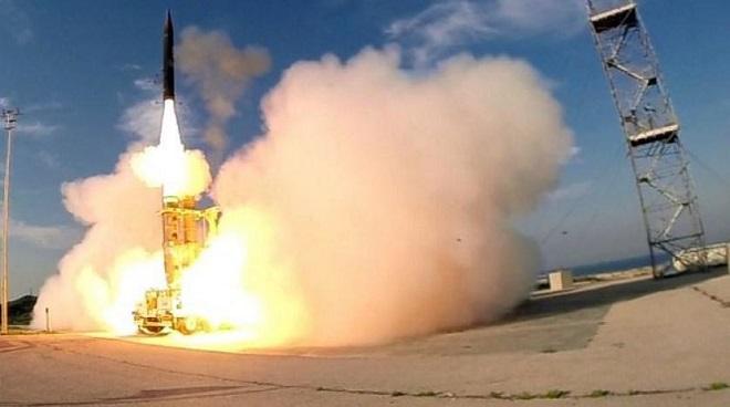 """Israel thử thành công tên lửa đánh chặn Arrow-2, tạo lớp phòng thủ """"siêu đỉnh"""" - Ảnh 1"""
