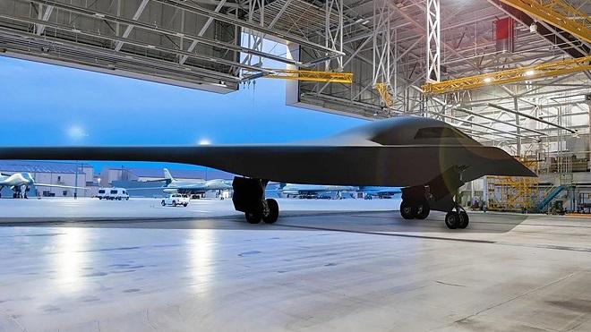 Không quân Mỹ tiết lộ thông tin mới nhất về chương trình chế tạo máy bay ném bom tàng hình B-21 - Ảnh 1
