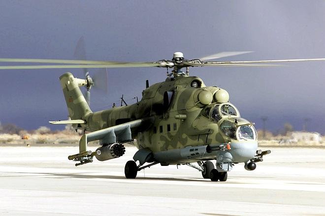 """Ai Cập điều hàng loạt """"xe tăng bay Mi-24"""" mang theo rocket đa năng tới Libya - Ảnh 1"""