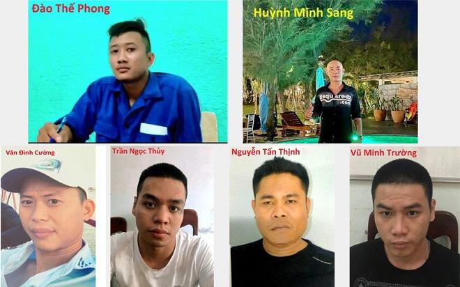 Phú Yên: Bắt nhóm cưỡng đoạt tài sản, đòi nợ thuê gây hoang mang dư luận - Ảnh 1