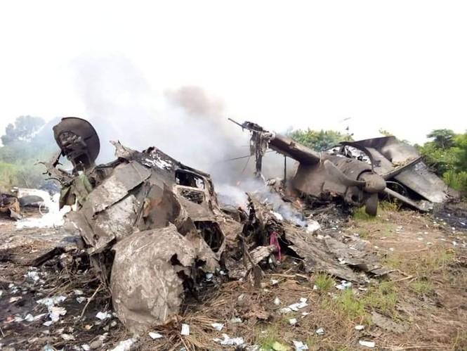 Rơi máy bay chở hàng ở Nam Sudan, ít nhất 17 người thiệt mạng - Ảnh 2