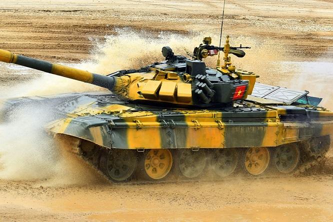 Video: Cận cảnh màn thi đấu ấn tượng của đội tuyển xe tăng Việt Nam tại vòng loại Army Games 2020 - Ảnh 2