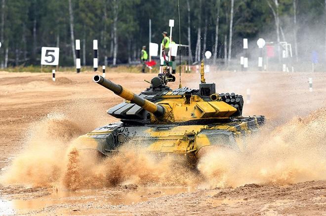 Video: Cận cảnh màn thi đấu ấn tượng của đội tuyển xe tăng Việt Nam tại vòng loại Army Games 2020 - Ảnh 3