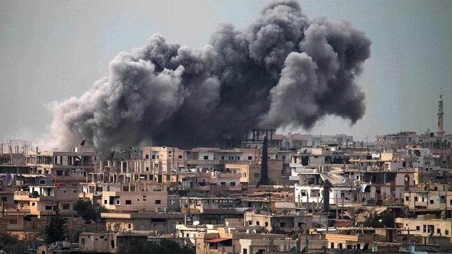 Israel điều chiến đấu cơ không kích ác liệt vào tiền đồn quân đội Syria của Syria giữa đêm - Ảnh 1