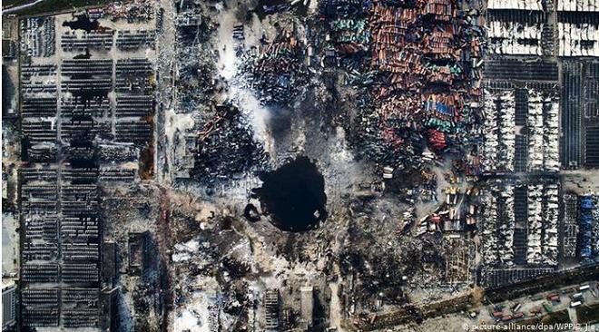 Nhìn lại 5 vụ nổ thảm khốc nhất lịch sử liên quan tới ammonium nitrate khiến hàng trăm người tử vong - Ảnh 5