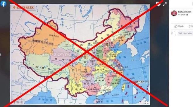 Hải Phòng: Xử phạt người đàn ông đăng bản đồ sai chủ quyền Việt Nam 12,5 triệu đồng - Ảnh 1