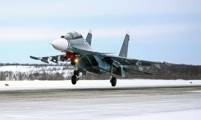 """""""Hổ mang chúa"""" Su-30 rơi tại Nga, nghi bị đồng đội bắn nhầm  - Ảnh 1"""