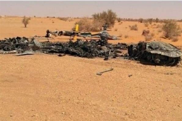 Rơi trực thăng tại Lybia, 4 lính đánh thuê Nga thiệt mạng - Ảnh 1