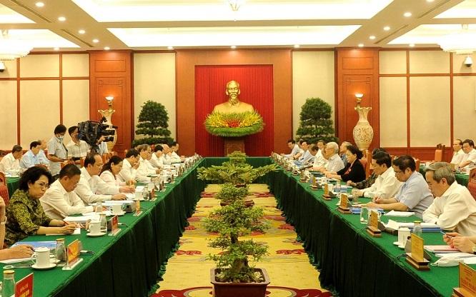 Bộ Chính trị làm việc với các đảng bộ trực thuộc Trung ương - Ảnh 2