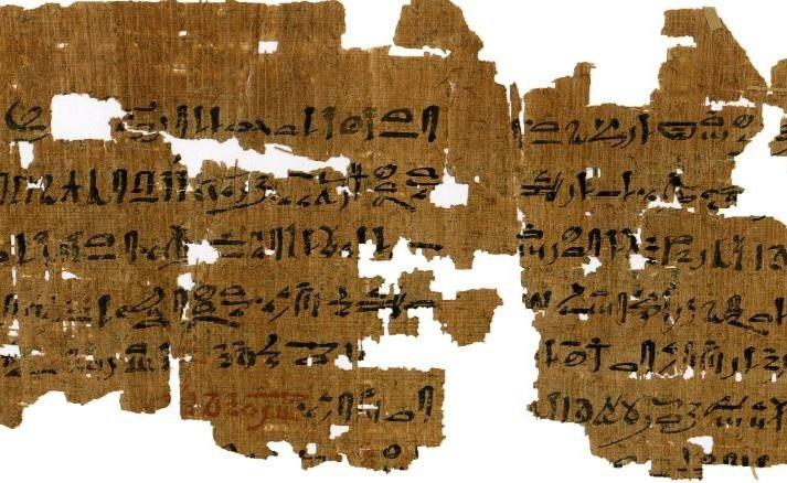 Mảnh giấy cói 3.500 năm tuổi tiết lộ cách các phụ nữ Ai Cập cổ đại thử thai - Ảnh 1