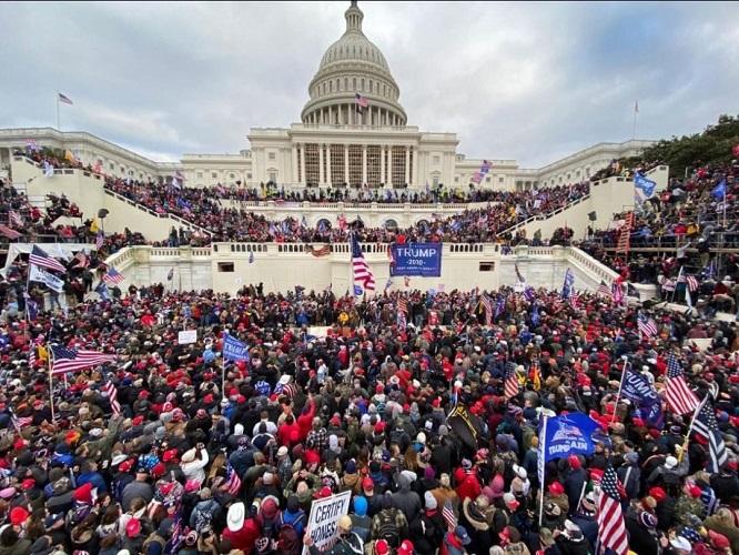 Nguy cơ bùng nổ biểu tình bạo loạn tại Mỹ trong ngày nhậm chức của ông Biden  - Ảnh 1