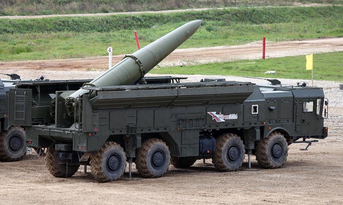 """Mỹ tuyên bố chế tạo tên lửa tương tự """"sát thủ"""" Iskander của Nga - Ảnh 1"""