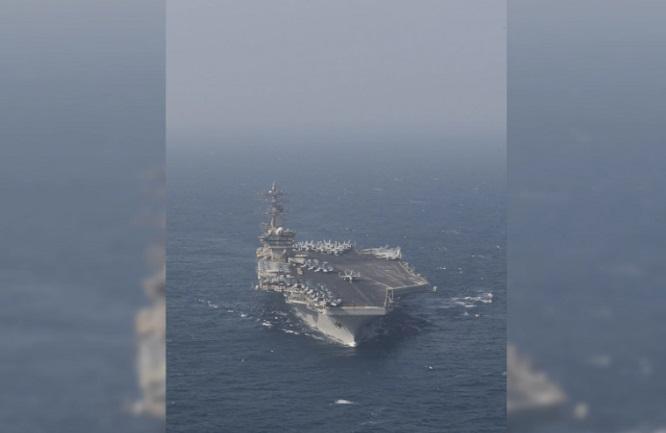 Tên lửa Iran phát nổ, rơi trên Ấn Đô Dương ngay sát tàu thương mại khiến căng thẳng gia tăng - Ảnh 1