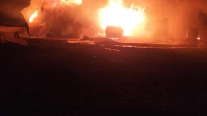 Tin tức quân sự mới nhất ngày 25/1: UAV Nga phá hủy kho dầu lớn nhất của phiến binh ở Tây Bắc Syria - Ảnh 1