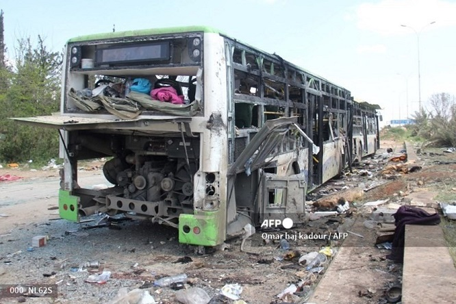 Tấn công khủng bố nhằm vào xe buýt, ít nhất 15 người thiệt mạng - Ảnh 1