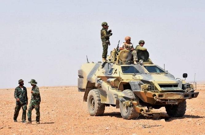 Nga phối hợp với SAA tấn công kho vũ khí bí mật của khủng bố IS tại Syria - Ảnh 1