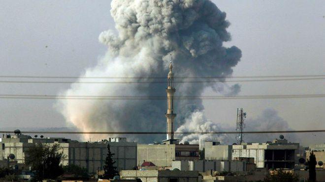 Syria lên án vụ không kích của Mỹ khiến 17 người thiệt mạng - Ảnh 1