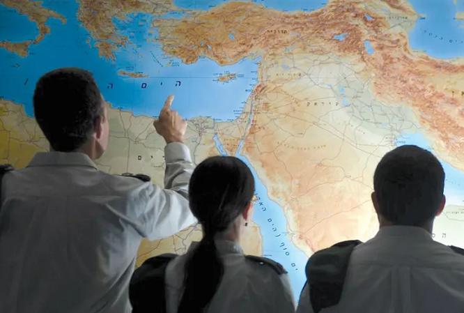 Lực lượng Phòng vệ Israel vô tình tiết lộ vị trí của các căn cứ bí mật lên mạng - Ảnh 1