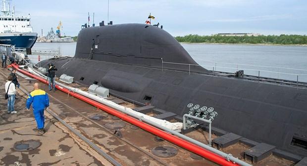 Tin tức quân sự mới nhất ngày 24/3: Nga trang bị vũ khí mới cho tàu ngầm hạt nhân đa nhiệm - Ảnh 1