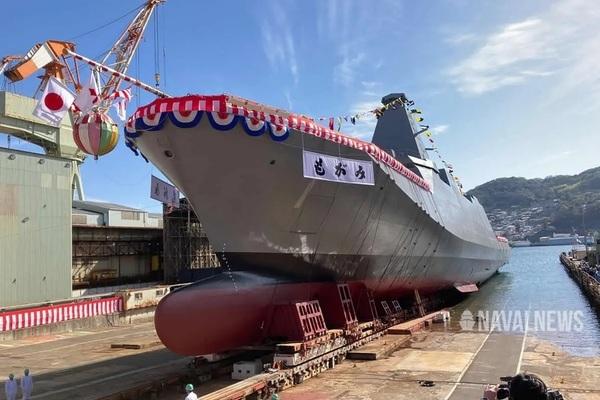 Tin tức quân sự mới nhất ngày 5/3/20201: Nhật Bản hạ thủy khu trục hạm đa nhiệm hiện đại - Ảnh 1