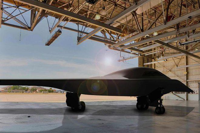 Lộ thông số bí mật của máy bay ném bom chiến lược Mỹ B-21 Raider - Ảnh 1