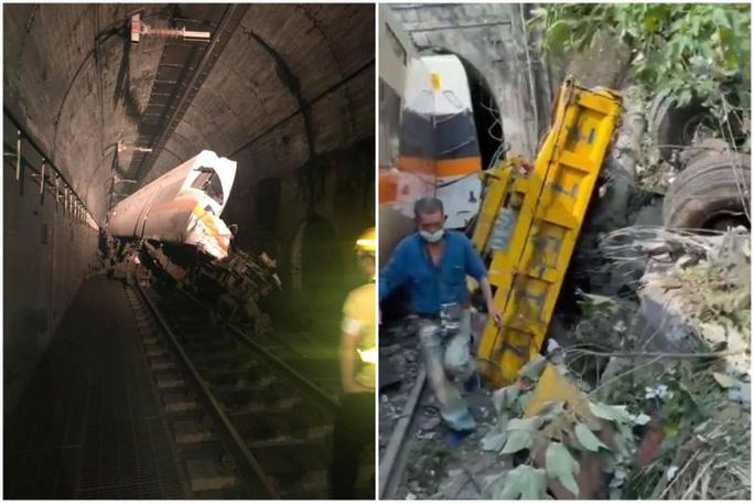 Đài Loan: Tàu hỏa trật đường ray, ít nhất 36 người thiệt mạng - Ảnh 1