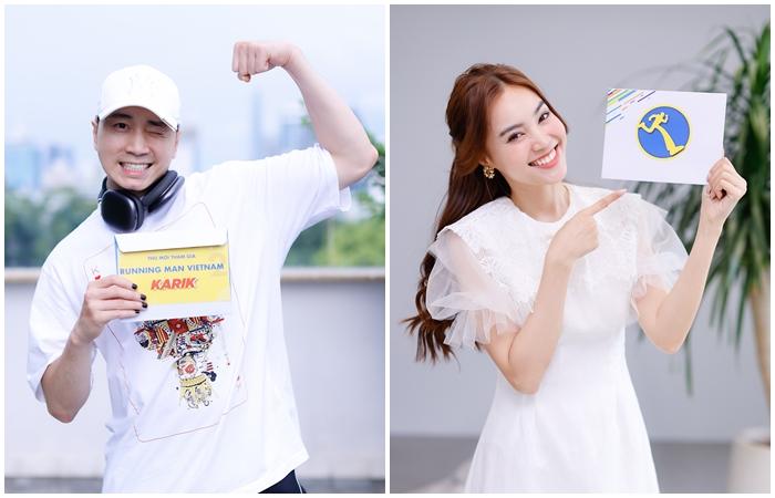 Karik và Ninh Dương Lan Ngọc nhận được thư mời từ Running Man Vietnam  - Ảnh 1