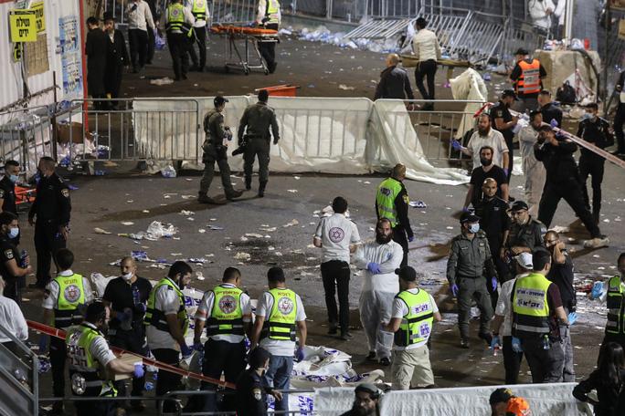 Thảm hoạ giẫm đạp tại lễ hội ở Israel, hàng chục người thiệt mạng - Ảnh 4