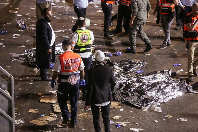 Thảm hoạ giẫm đạp tại lễ hội ở Israel, hàng chục người thiệt mạng - Ảnh 3