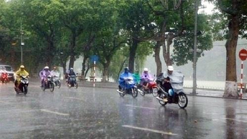 """Dự báo thời tiết ngày 11/11/2018: Mưa rào """"phủ kín"""" cả nước, Hà Nội nhiệt độ giảm nhẹ - Ảnh 1"""