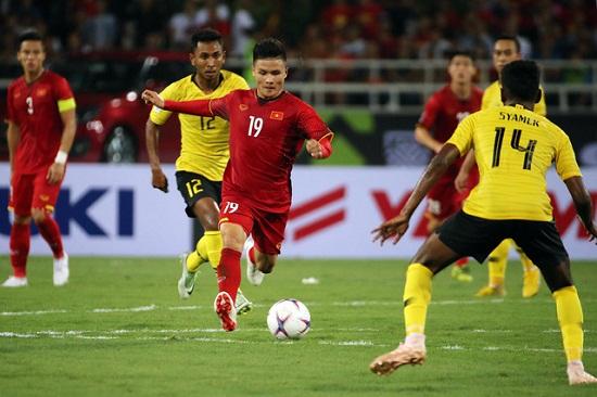 Việt Nam 2- 0 Malaysia: Thầy trò HLV Park Hang Seo viết tiếp lịch sử trên sân Mỹ Đình - Ảnh 1
