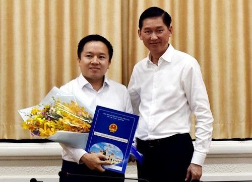 Ông Từ Lương làm Phó Giám đốc sở Thông tin và Truyền thông TP.HCM - Ảnh 1
