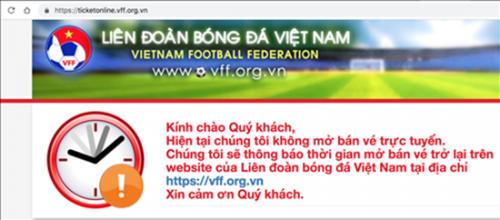Sáng nay (28/11), VFF chính thức bán vé online trận bán kết AFF Cup 2018 Việt Nam- Philippines - Ảnh 1