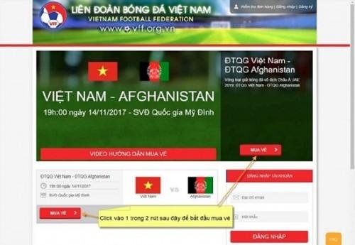 Sáng nay (28/11), VFF chính thức bán vé online trận bán kết AFF Cup 2018 Việt Nam- Philippines - Ảnh 2