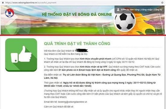 Vé trận bán kết Việt Nam-Philippines: VFF tiết lộ lượng vé bán ra trong ngày đầu tiên - Ảnh 2