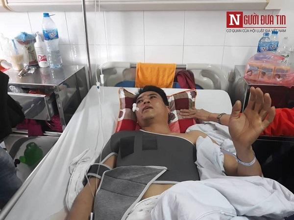 Nạn nhân vụ xe Lexus gây tai nạn liên hoàn ở Hà Nội: Nằm dưới gầm ô tô mới biết bị tông - Ảnh 2