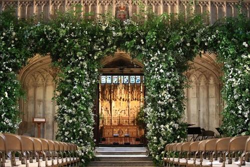 Những hình ảnh đầu tiên về đám cưới Hoàng tử Harry và diễn viên Meghan Markle - Ảnh 2