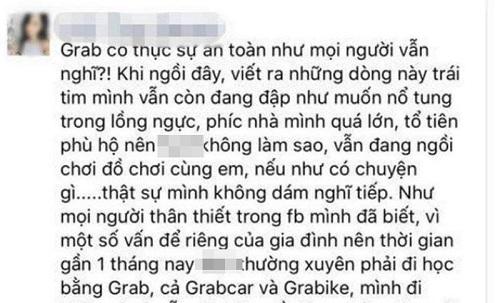 Lái xe Grab thừa nhận hành vi quấy rối tình dục bé gái 9 tuổi - Ảnh 1