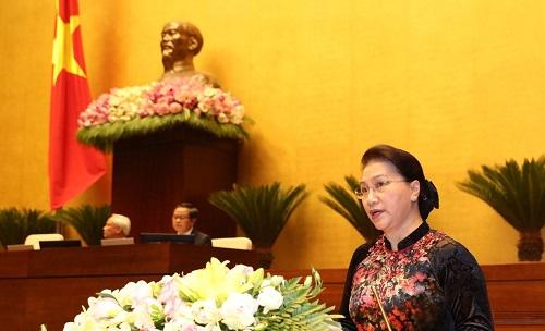 Chủ tịch Nguyễn Thị Kim Ngân: Quốc hội phải tiếp tục đổi mới, sáng tạo, hành động - Ảnh 1