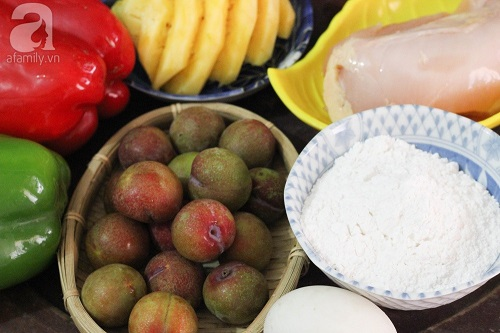 Học cách làm gà chiên sốt mận chua ngọt ngon cơm ngày hè - Ảnh 1