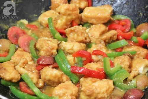 Học cách làm gà chiên sốt mận chua ngọt ngon cơm ngày hè - Ảnh 4