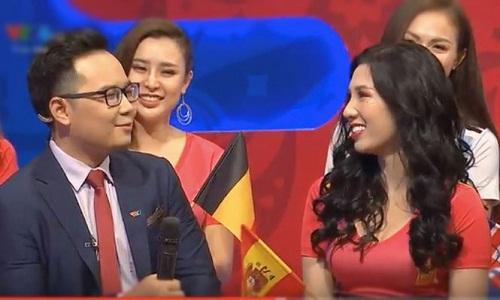 Vẻ đẹp nóng bỏng của nữ cổ động viên Việt Nam mùa World Cup 2018 - Ảnh 7