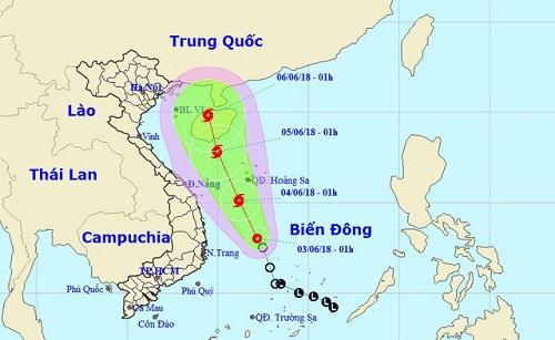 Áp thấp nhiệt đới mạnh lên thành bão gây mưa lớn Nam Bộ, Tây Nguyên - Ảnh 1