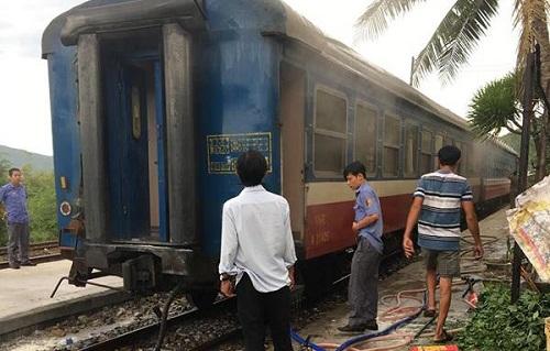 Tìm ra nguyên nhân khiến cháy tàu hỏa khi đang chạy tại Phú Yên - Ảnh 1