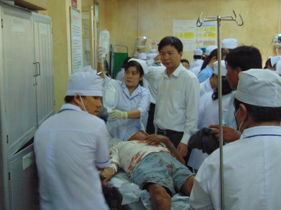 Bạc Liệu: Kinh hoàng đối tượng nghi ngáo đá chém 11 người thương vong - Ảnh 1