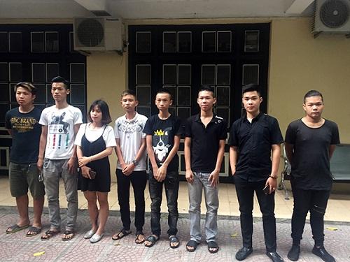 Hà Nội: Khởi tố 7 thanh niên đua xe mùa World Cup - Ảnh 1