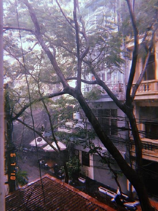 Hà Nội: Mưa lớn giữa trưa nắng, người dân mừng như bắt được vàng - Ảnh 5