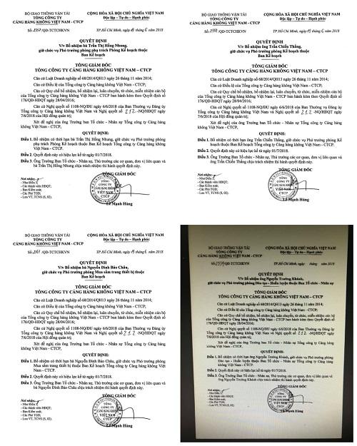 Trước khi về hưu, Tổng giám đốc Cảng hàng không Việt Nam bổ nhiệm hàng chục cán bộ - Ảnh 2